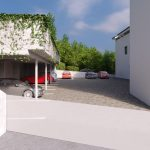 Vizualizácia parkovacích miest Grand Vue